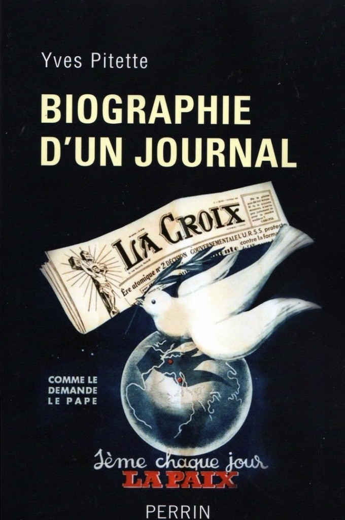 Biographie d'un journal, la couverture